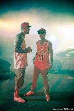 Snapback Tyga and Chris Brown