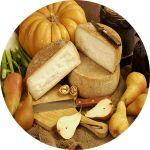 Pecorino di Calitri.  Questo pregiato formaggio dal sapore unico viene accuratamente stagionato in grotte millenarie di tufo e pietra. L'umidità, la temperatura, il particolare microclima della grotta, artificialmente non ricreabile, porta al formaggio una speciale consistenza e un gusto ineguagliabile.