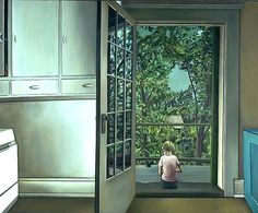 Kitchen Door and Esther (1965) Christiane Pflug
