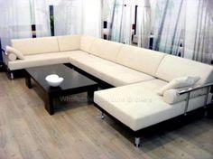Jogo de sofá microfibra branco