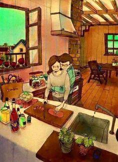 Os pequenos momentos felizes de um relacionamento ~ Ovelhas Voadoras