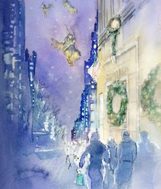 Tiffany & Co. watercolor