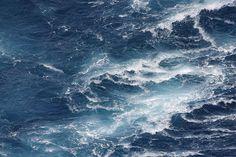 Infinite shades of blue  #sea #ocean #waves