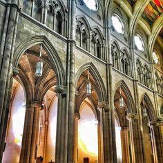 Grandes construcciones grandes ideales   Great buildings great ideals  Catedral de Madrid #nature #photography
