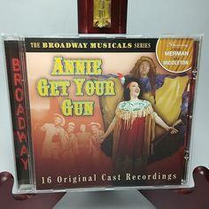 Annie Get Your Gun 16 Original Cast Recording Broadway Musicals Series 2002 CD Ethel Merman, Annie Get Your Gun, Bernadette Peters, Originals Cast, You Got This, Musicals, Broadway, It Cast, Industrial