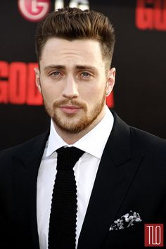 Aaron Taylor-Johnson..I didn't think he was attractive in anyway untill I saw him in Anna Kerina..(prolly spelled that wrong)