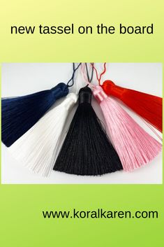 new tassel in our shop Tassel Necklace, Tassels, Shopping, Jewelry, Jewlery, Jewerly, Schmuck, Jewels, Tassel