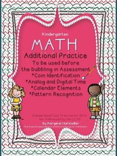 This zipped file includes both the ELA and the Math Standardized Test Practice packets from my store.  They are suitable for preparing kindergarten or first grade students for bubbling and answering questions similar to ELA and Math test questioning styles.