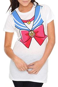 Sailor Fuku Sailor Moon tee from Hot Topic!  More info and links on where to buy this Sailor Moon tee can be found here: www.moonkitty.net...