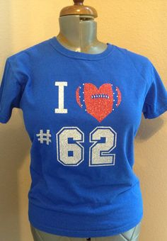 Hey, I found this really awesome Etsy listing at https://www.etsy.com/listing/220152727/custom-football-mom-or-girlfriend-spirit