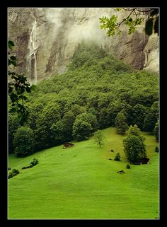 Lauterbrunnen, Switzerland by nunovix/deviantart  #Rivendell