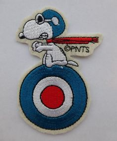 Snoopy Flying Ace Patch No.3