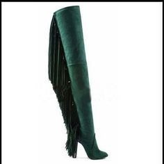 115.00$  Watch here - http://aifva.worlditems.win/all/product.php?id=32781960654 - 2017 newest hot selling keep warm snow boots fashion fringe decoration thin and super high heel pumps black and green