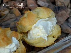 Cream Puffs from Hot Eats and Cool Reads