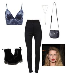 """Untitled #32"" by kianaawilliams on Polyvore featuring Dolce&Gabbana, Topshop, Dr. Martens and Natalie B"