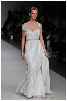 Romona Keveza Greek Bridal Gown. Just a reference for future's prom.