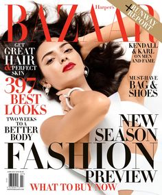 Kendall Jenner For Harper's Bazaar US