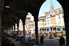 Piazza delle Erbe - Mantova by La Anita2008, via Flickr