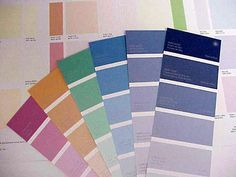 shade Asian card color paints