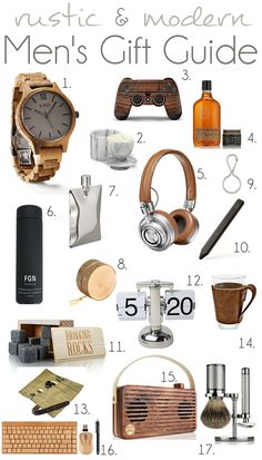 2016 Rustic And Modern Men S Gift Guide