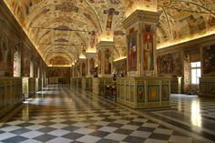 Even though we are not Catholic, the Vatican was an amazng sight to see! The artwork is inspiring.