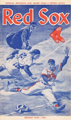 1961 Red Sox Program