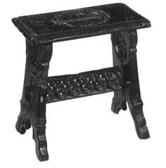 Medieval Wooden Stool Plans for a period stool that folds up (really ...