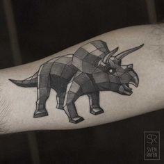Geometric-dinosaur-tattoo.jpg (635×635)
