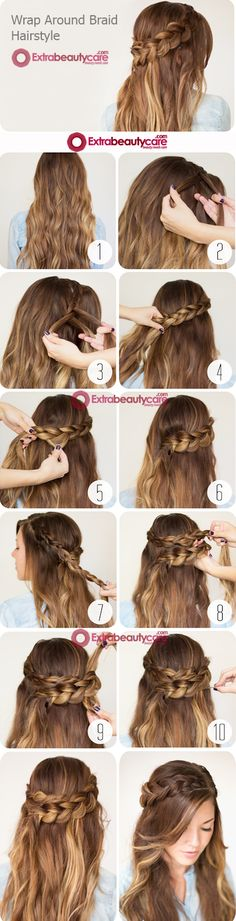 How to Make Wrap Around Braid