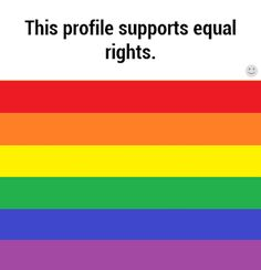 I support equality, pin if you feel the same. I'm not part of the LGBTQ but I support them with my heart. Christopher Street Day, Nos4a2, Lgbt Memes, Marie Curie, Bubbline, Faith In Humanity Restored, Equal Rights, Lgbt Rights, My Guy