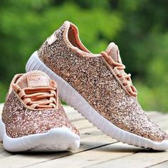 Glitter Bomb Sneakers - Rose Gold (PREORDER) Rose Gold Nike Shoes b0b6367bd