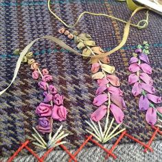 SnapWidget | #silkribbonembroidery #embroidery #handwork #needlework #stitch