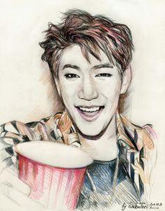 Jun.K 2PM kpop fanart