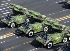 HongQi 7 (FM-90)Surface-to-Air Missile System (China)