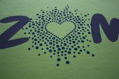 Zumba shirt made with iron-on vinyl   TeamKNK