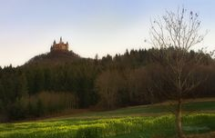 ITAP of Hohenzollern Castle in Germany at sunset http://ift.tt/2kKndXb