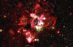 El sur de esta región es conocida por los científicos como N44 H II, localizada en la Gran Nube de Magallanes.