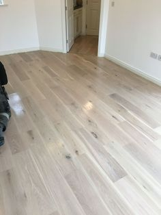 Oak flooring we have restored and finished using white wash stain and a Matt lacquer