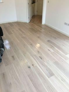 Red Oak Hardwood Floors Left Is Oil Based Polyurethane And