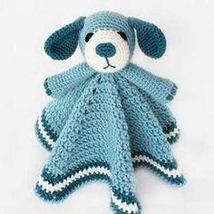 Buy Puppy dog Lovey crochet pattern - Allcrochetpatterns.net