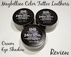 Icy Nails. A review of three of the Maybelline Color Tattoo Leathers cream eye shadows. D I like? Come visit and see. #beauty #makeup #maybelline #eyeshadow #review #bbloggers #bbloger #bblogcoalition