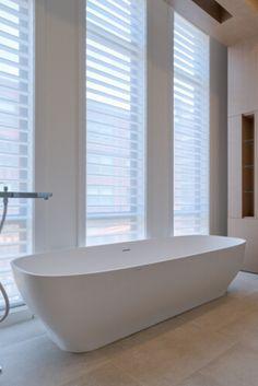 Top bathroom window size requirements exclusive on homestre.com Cozy Bathroom, Bathroom Windows, Budget Bathroom, Bathroom Layout, Bathroom Styling, Small Bathroom, Bathroom Ideas, Simply Bathrooms, Luxury Master Bathrooms