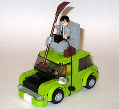 I start the lego project of Mr. Bean's Car. Please go this site :