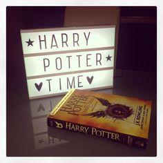 Harry Potter Time! A little lovely lightbox #alittlelovelylightbox #alittlelovelycompany