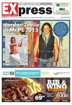 PE Express 17 June 2015 Port Elizabeth, Newspaper, Make It Simple, June, Entertaining, Journaling File System, Magazine