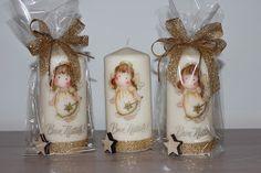 Ciao a tutti,  per queste candele ho avuto un pò di titubanza perché mi sono state richieste espressamente con queste decorazioni ed era div...