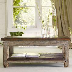 Furniture   Reclaimed wood coffee table