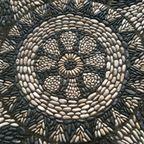 Stones mandala-patio-project