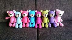 Crochet Toys For Babies Bear Patterns Ideas For 2019 Crochet Pillow Patterns Free, Crochet Quilt, Crochet Bear, Crochet Patterns Amigurumi, Crochet For Kids, Baby Blanket Crochet, Diy Crochet, Crochet Dolls, Bear Patterns