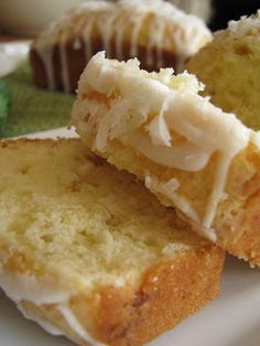 Key Lime and Coconut White Chocolate Pound Cake